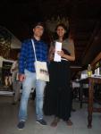 Natasha Pradhan and Adil Hajjaj contacted Caroline Wake