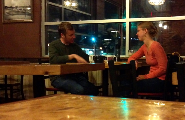 7:10 pm: Jeff Casey discourses on friendship at Barriques on Park St.